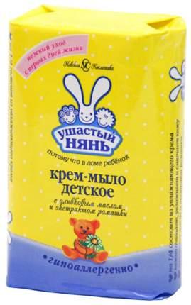 Крем-мыло детское Ушастый Нянь с оливковым маслом и ромашкой 90 г