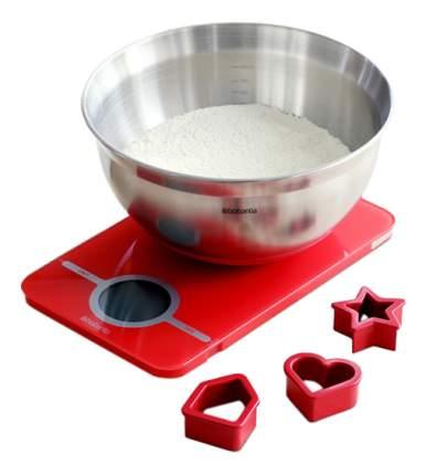 Набор кухонных принадлежностей Brabantia Весы красные + салатник