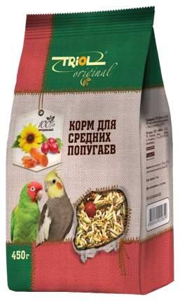 Корм для птиц Тriol Original для средних попугаев 450 г