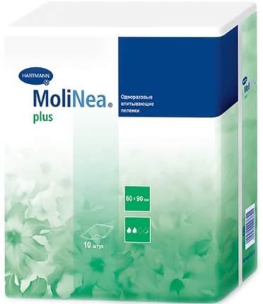 Впитывающие пеленки Molinea Plus 60 см х 90 см 10 шт.
