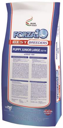 Сухой корм для щенков Forza10 Best Breeders Puppy Junior Large, рыба, 20кг