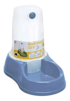 Кормушка-автопоилка для кошек и собак Stefanplast, голубой, 3.5 л