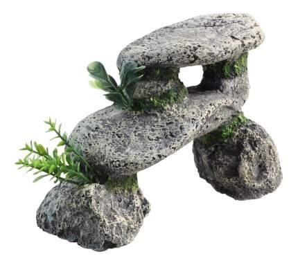 Грот для аквариума Laguna Арка из камней 2553LD, полиэфирная смола, 13,5х6,5х9,5 см