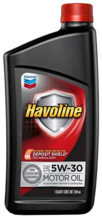 Моторное масло Chevron Havoline 5W-30 0,946л
