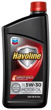 Моторное масло Chevron Havoline 5W-30 0,946л