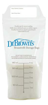Пакеты для хранения грудного молока Dr. Brown's 180 мл 25 шт.