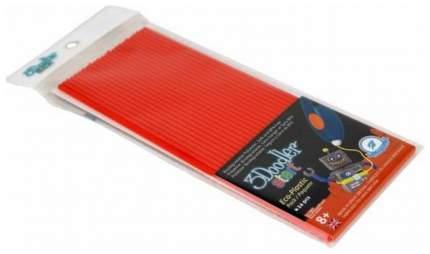 Эко-пластик к 3Д ручке 3Doodler Start, цвет красный 24 шт