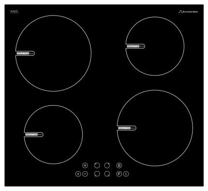 Встраиваемая варочная панель индукционная Schaub Lorenz SLK IY6TC0 Black