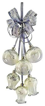 Гроздь шаров на ель Елочка Воздушная C421 4,5 см 6 шт.