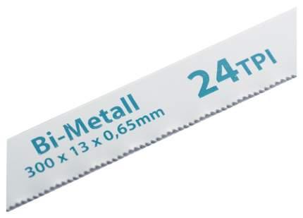 Полотна для ножовки по металлу GROSS 300 мм 24TPI BIM 2 шт 77729