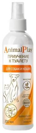 Cпрей для приучения к туалету для кошек и собак Animal Play, 200 мл