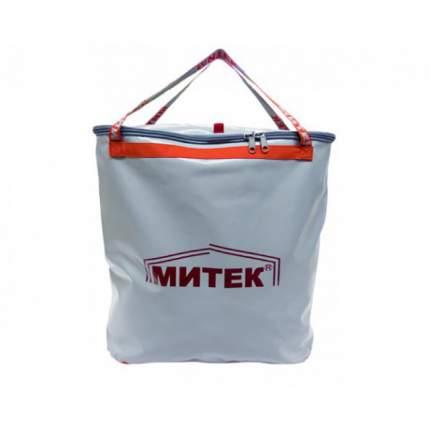 Рыболовная сумка Митек с крышкой 50 x 20 x 50 белая/оранжевая