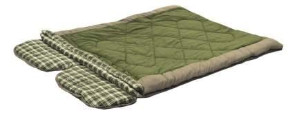Спальный мешок Prival Double-Lux зеленый, двусторонний