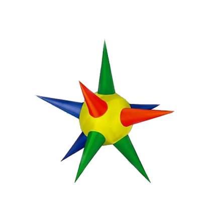 Надувная фигура Звезда 10 Лучей 2 м разноцветная подсветка SMA-8MUL