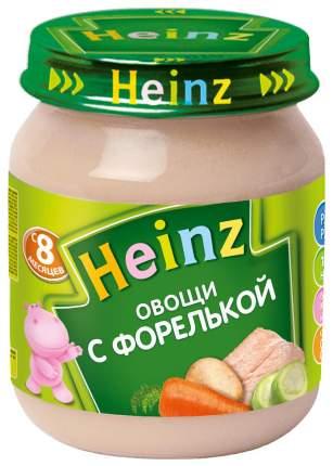 Пюре Heinz Овощи с форелькой с 8 мес. 120 г
