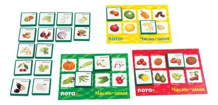 Семейная настольная игра Step Puzzle Лото Часть-целое 80304