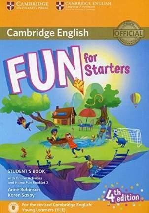 Fun for Starters 4Ed SB + Online Activities + Audio + Home Fun Booklet