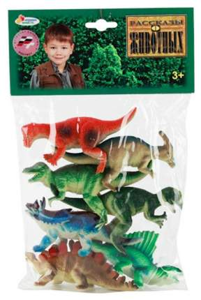 Фигурка динозавра Играем вместе HB9908-7 7 штук
