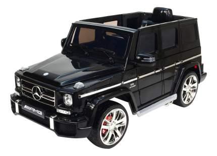 Электромобиль Mercedes-Benz G63-AMG черный RIVERTOYS