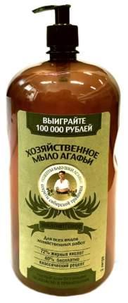 Хозяйственное мыло Рецепты бабушки Агафьи эвкалиптовое 2 л