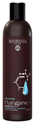 Шампунь Egomania With Argan Oil For Nutrition Of Dry&Colored Hair 250 мл