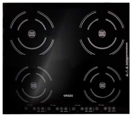 Встраиваемая варочная панель индукционная Ginzzu HCI-407 Black
