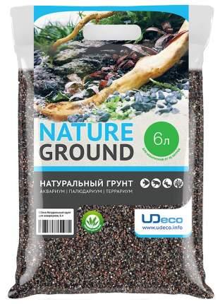 Натуральный песок для аквариумов и террариумов UDeco River Light, бежевый, 0,4-0,8 мм, 6 л