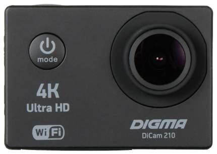 Экшн камера Digma DiCam DC210 Black