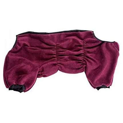 Комбинезон для собак OSSO Fashion размер 3XL женский, красный, длина спины 50 см