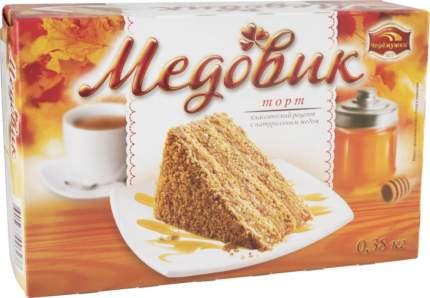 Торт медовик Черемушки с натуральным медом 380 г