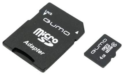 Карта памяти QUMO Micro SDHC QM4GMICSDHC6 4GB