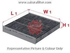 Фильтр салона Sakura CAC1606