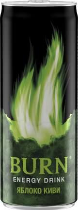 Напиток энергетический Burn яблоко киви жестяная банка 0.33 л