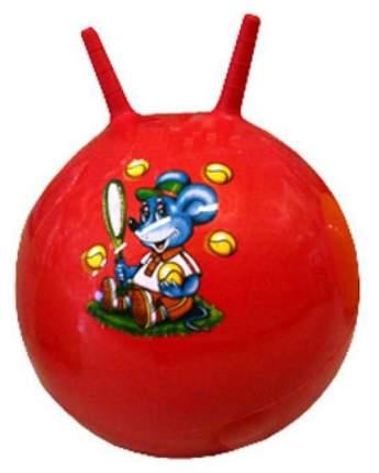 Гимнастический мяч Shantou Gepai с рожками разноцветный 45 см