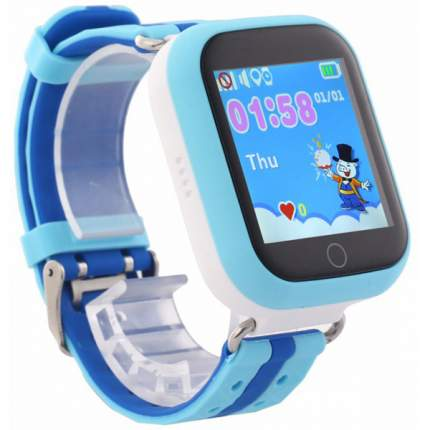 Детские смарт-часы Smart Baby Watch Q100 Blue