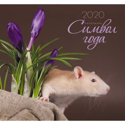 Календарь 2020 Символ года. Дизайн 2 (скрепка),КС62002