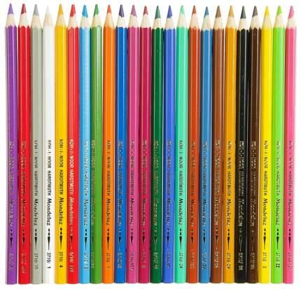 Карандаши цветные Koh-I-Noor Mondeluz 24 Цвета