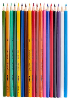 Карандаши цветные Koh-I-Noor Рыбки 18 цветов