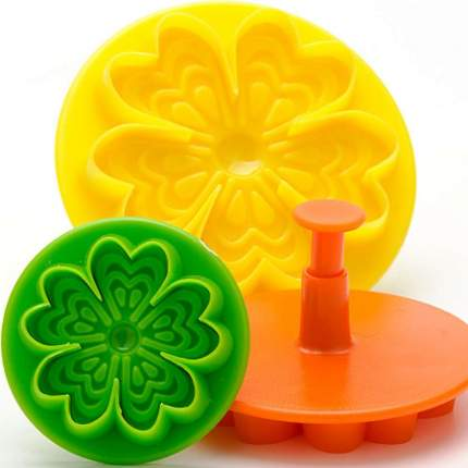 Форма для выпечки Mayer&Boch 24015 Зеленый, желтый, оранжевый