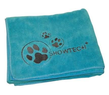 Полотенце для животных Show Tech Microtowel, микрофибра, бирюзовое, 56x90 см