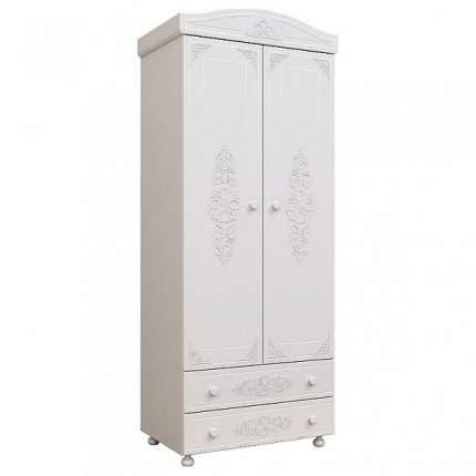 Платяной шкаф Компасс-мебель Ассоль АС-02 KOM_AC02 83,2x50x206, белое дерево