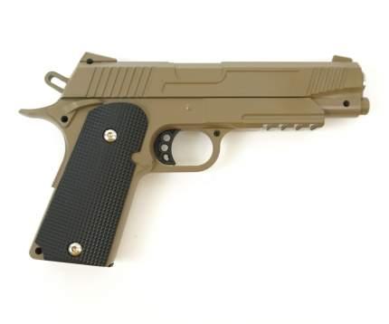 Страйкбольный пружинный пистолет Galaxy  Китай (кал. 6 мм) G.38D (песочный)
