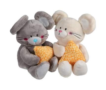 Мягкая игрушка животное Fluffy Family Мышонок Мики с сыром 681601