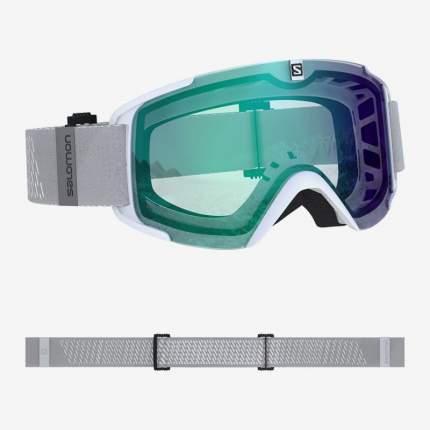 Горнолыжная маска Salomon Xview 2020 Photo White/Aw Blue