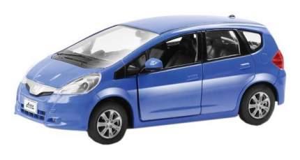 Машина металлическая RMZ City 1:32 Honda Jazz, инерционная, синяя, 12,7 x 4,9 x 4,1см