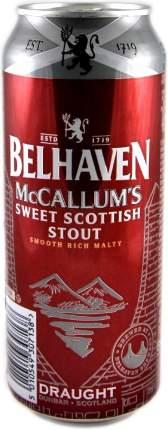 Пиво Belhaven McCallum's Stout in can 0.44 л