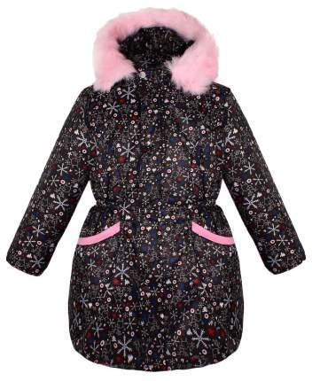 Куртка для девочки Радуга Дети 84071-ДЗ19 черная, размер 116
