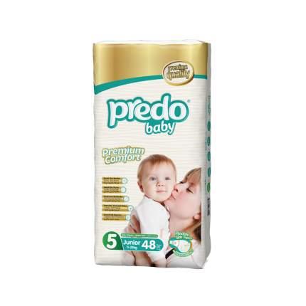 Подгузники Predo Baby Junior №5 Гигантская пачка 48 шт. 11-25 кг