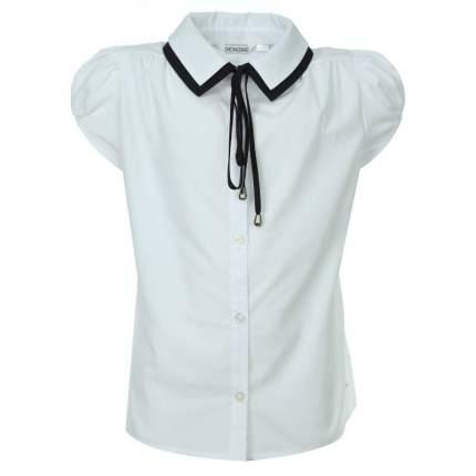 Блузка UNONA D'ART, цв. белый, 122 р-р