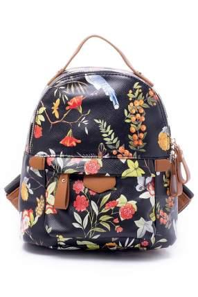 Рюкзак женский Renee Kler RK7014L черный; красный